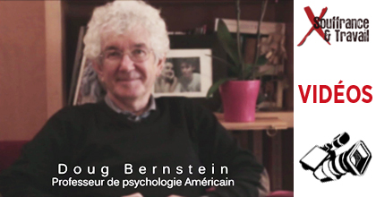 Doug Bernstein videos Psychologie du travail