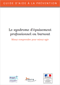 Guide épuisement professionnel burn-out