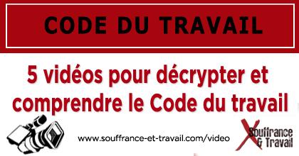 Code du travail : avis d'experts - Vidéos