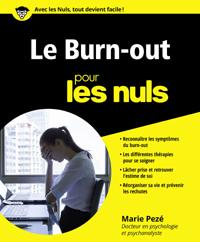 Le burn-out pour les nuls - Marie Pezé