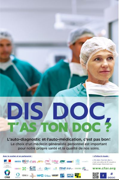 Dis Doc, T'as ton Doc ? Campagne internationale pour changer le modèle culturel des médecins