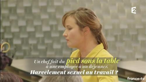 France 2 : Harcèlement sexuel au travail : l'affaire de tous