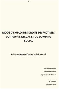 Droits des victimes du travail illégal et du dumping social