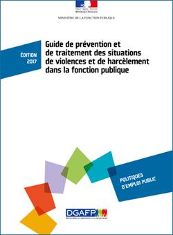 Guide de prévention et de traitement des situations de violences et de harcèlement dans la fonction publique
