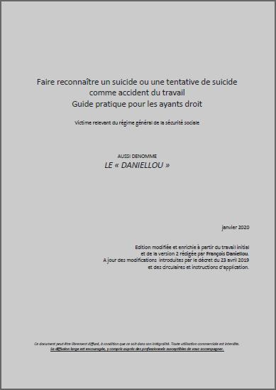 Suicide au travail : guide des ayants droit